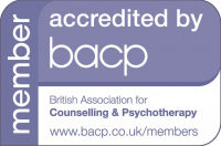 Accredited by BACP symbol